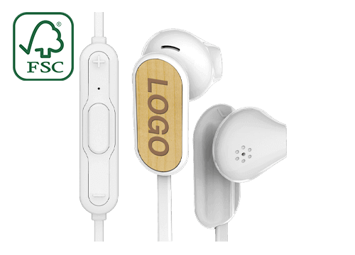 Custom Bluetooth® Earphones, delivered in just 30 days