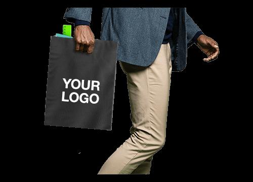 Compact - Custom Die Cut Handle Bags