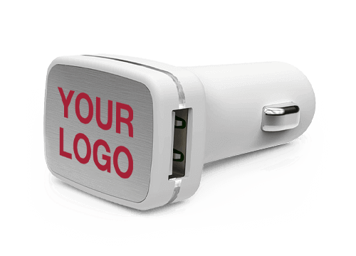 Zip - Branded USB Car Charger