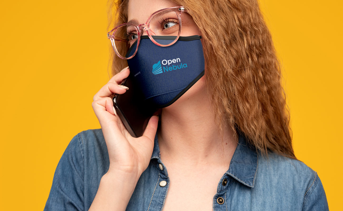 Denim - Custom Face Mask