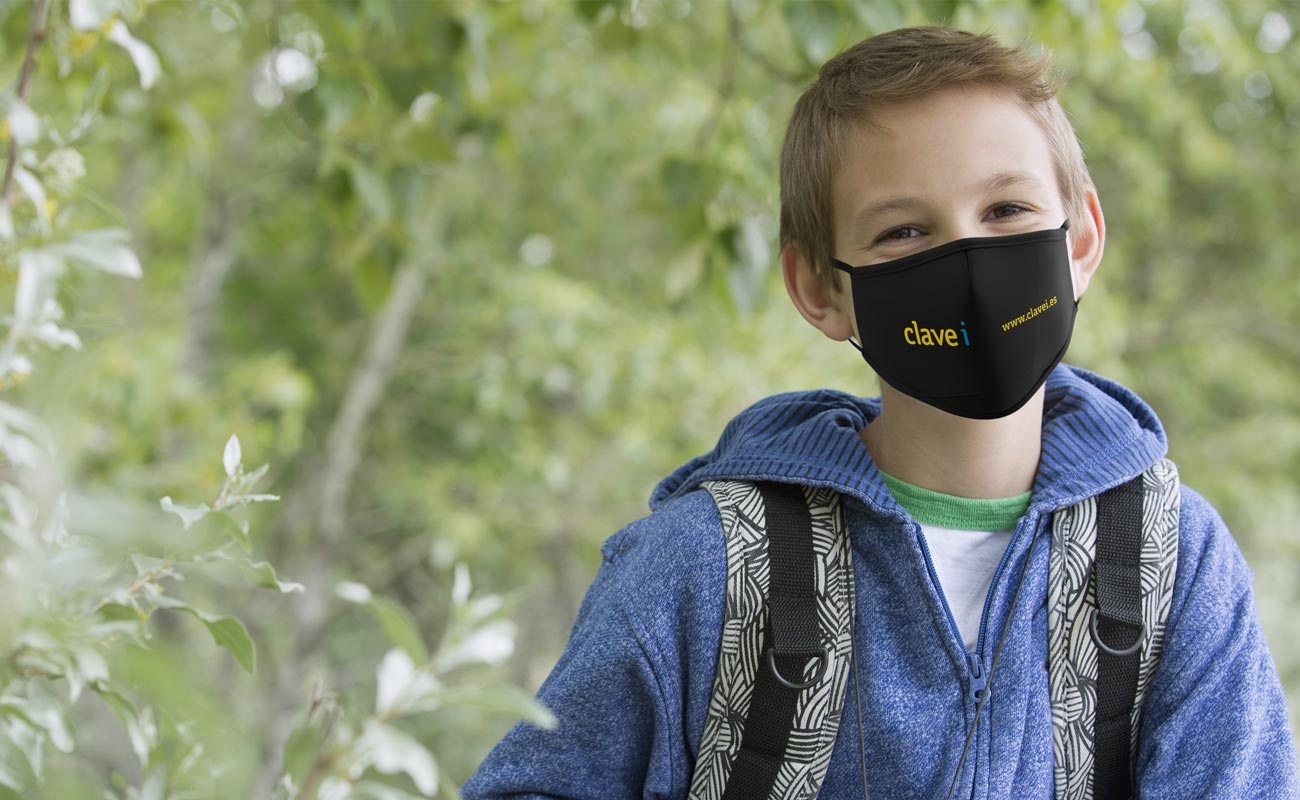Junior - Custom Face Mask